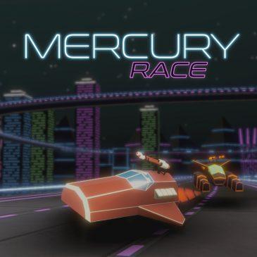 Lanzamiento de Mercury Race en el eShop japonés de Nintendo Switch
